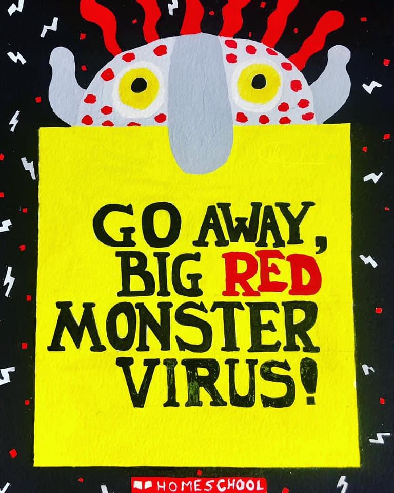 Go Away Big Green Monster Book Pdf