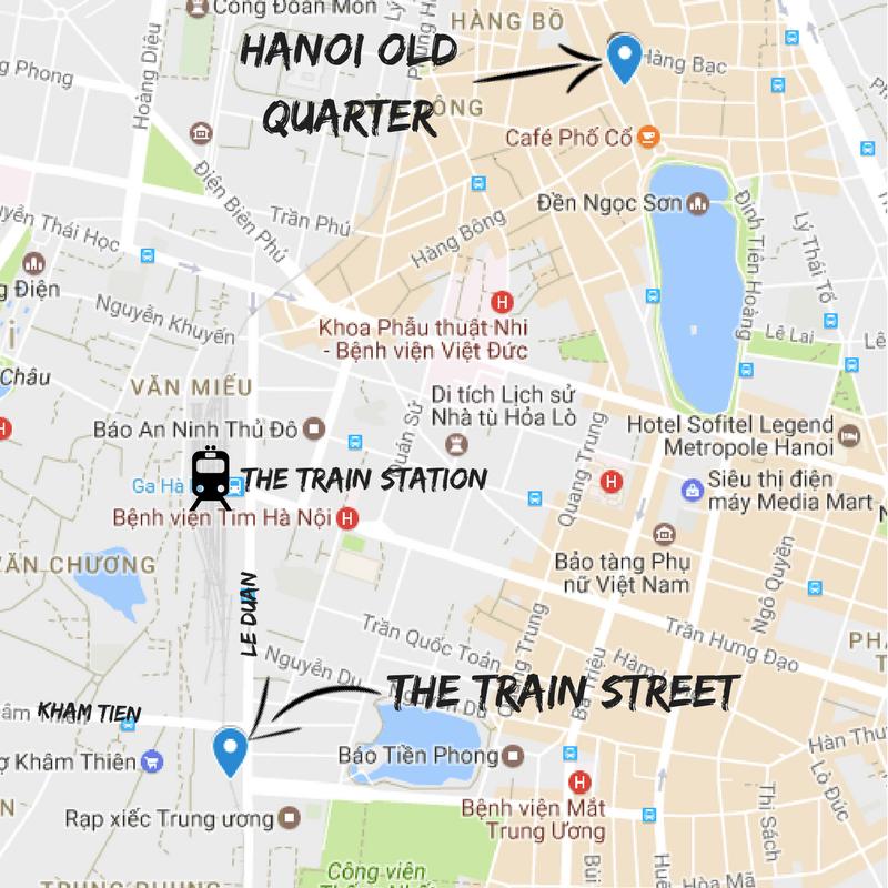Hanoi Tourist Map Pdf
