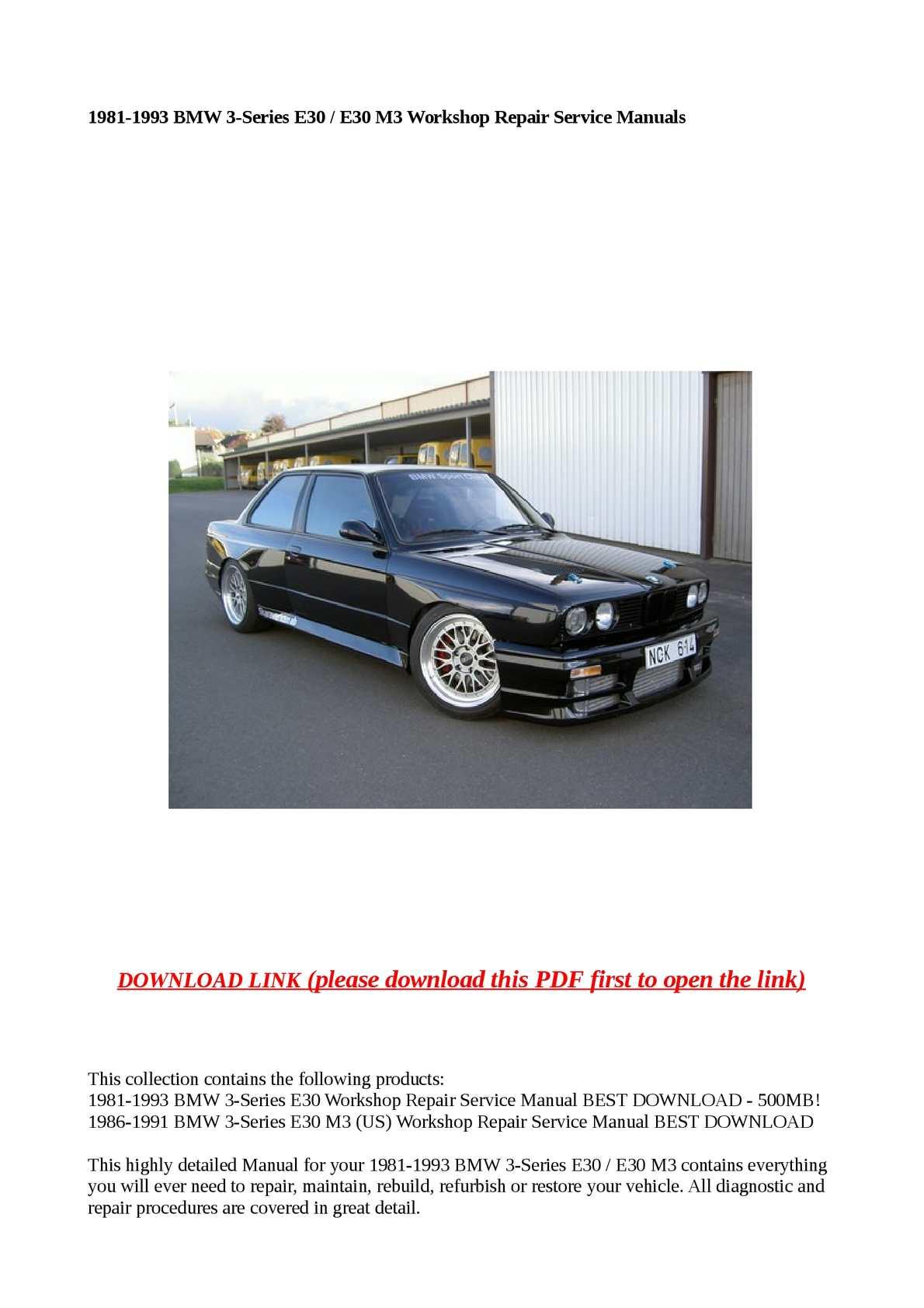 Haynes Manual Bmw 3 Series Download Pdf