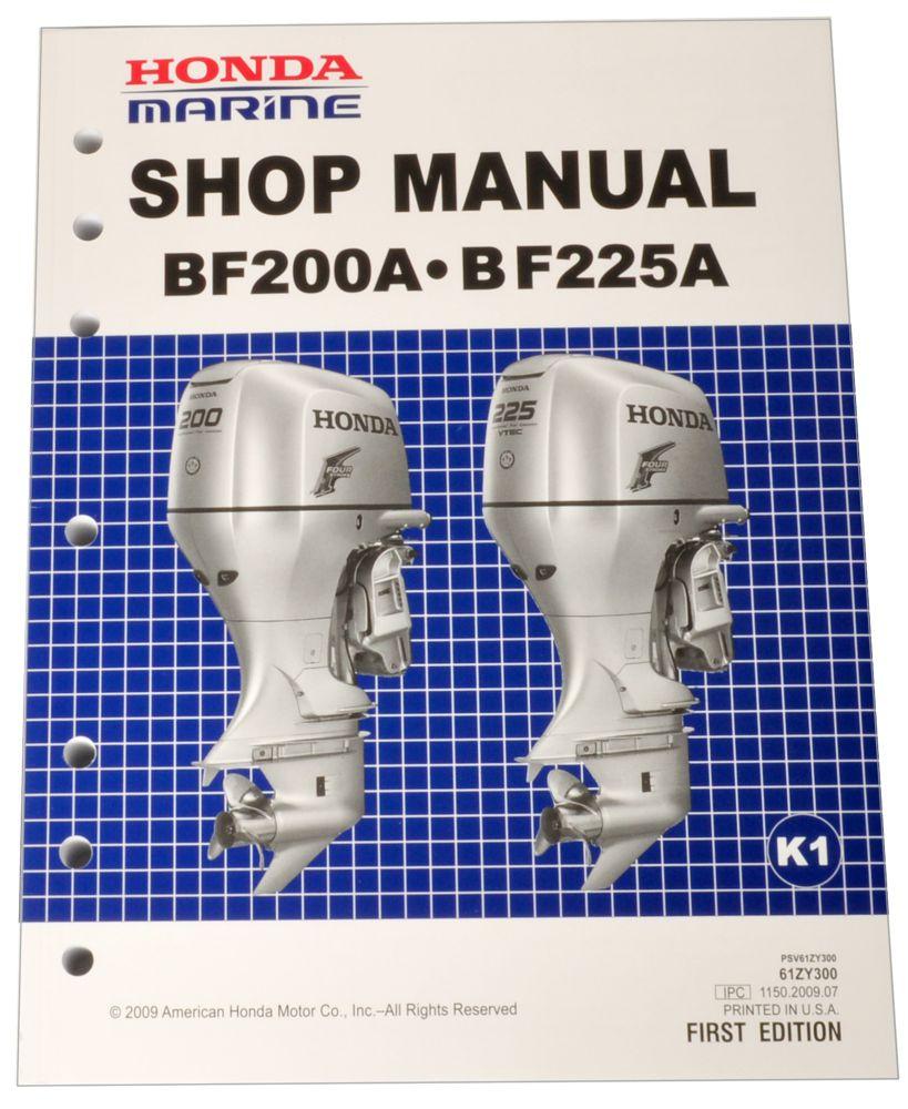 Honda Bf150 Service Manual Pdf