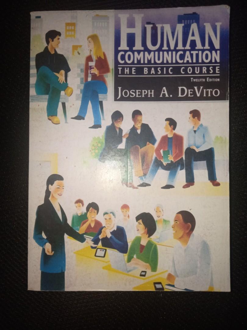 Human Communication By Joseph A Devito Pdf