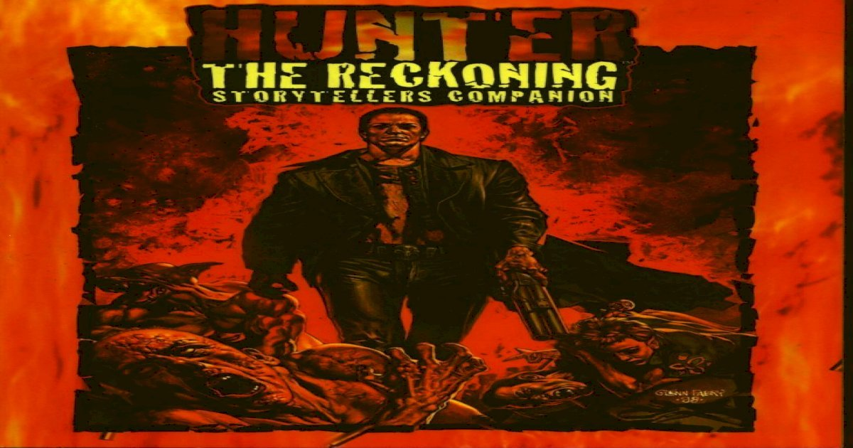 Hunter The Reckoning Book Pdf