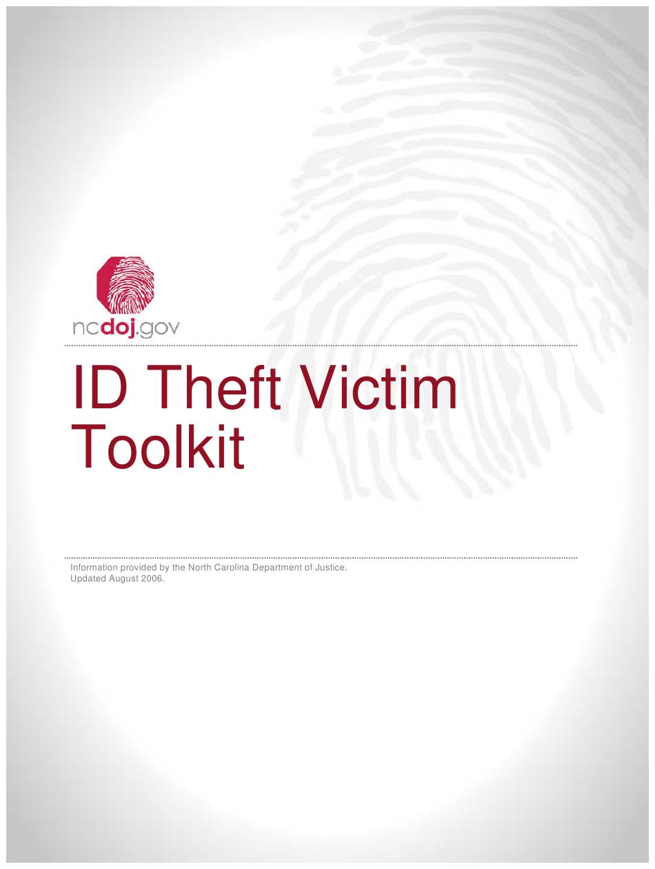 Identity Theft Affidavit Pdf