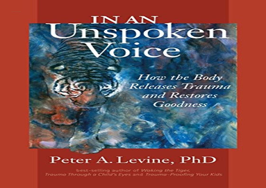 In An Unspoken Voice Pdf