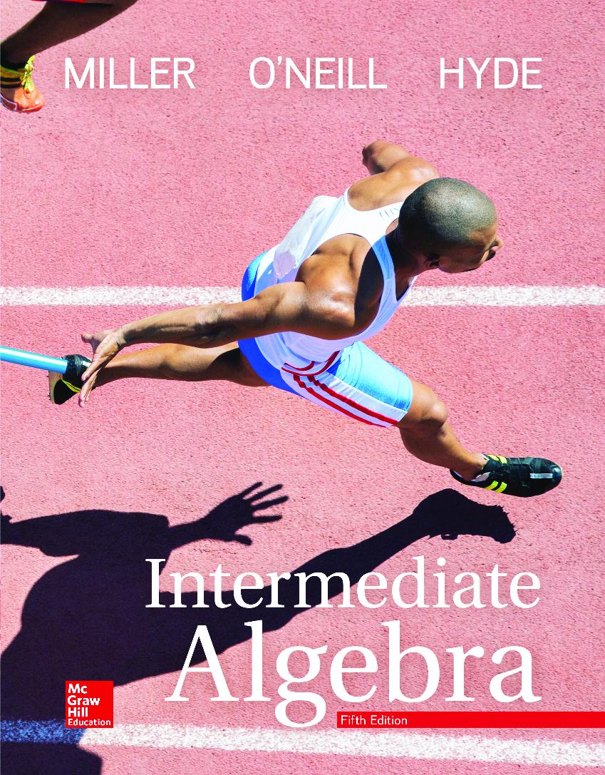 Intermediate Algebra 5th Edition Miller Pdf