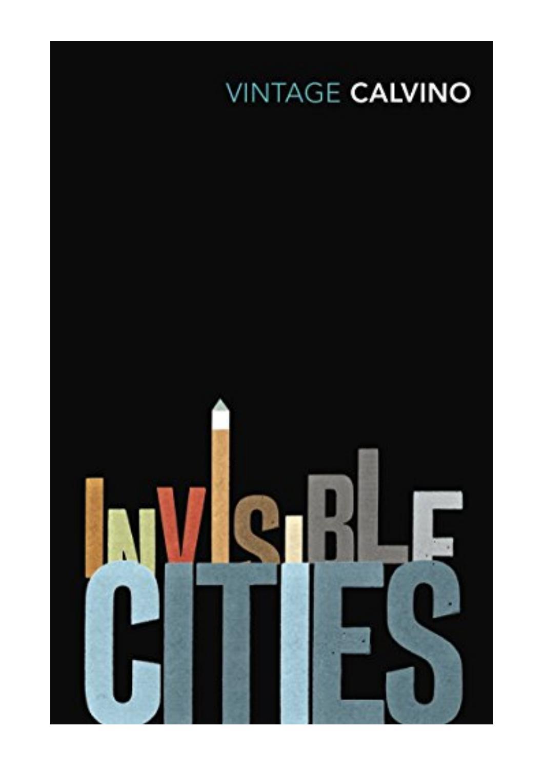 Invisible Cities By Italo Calvino Pdf