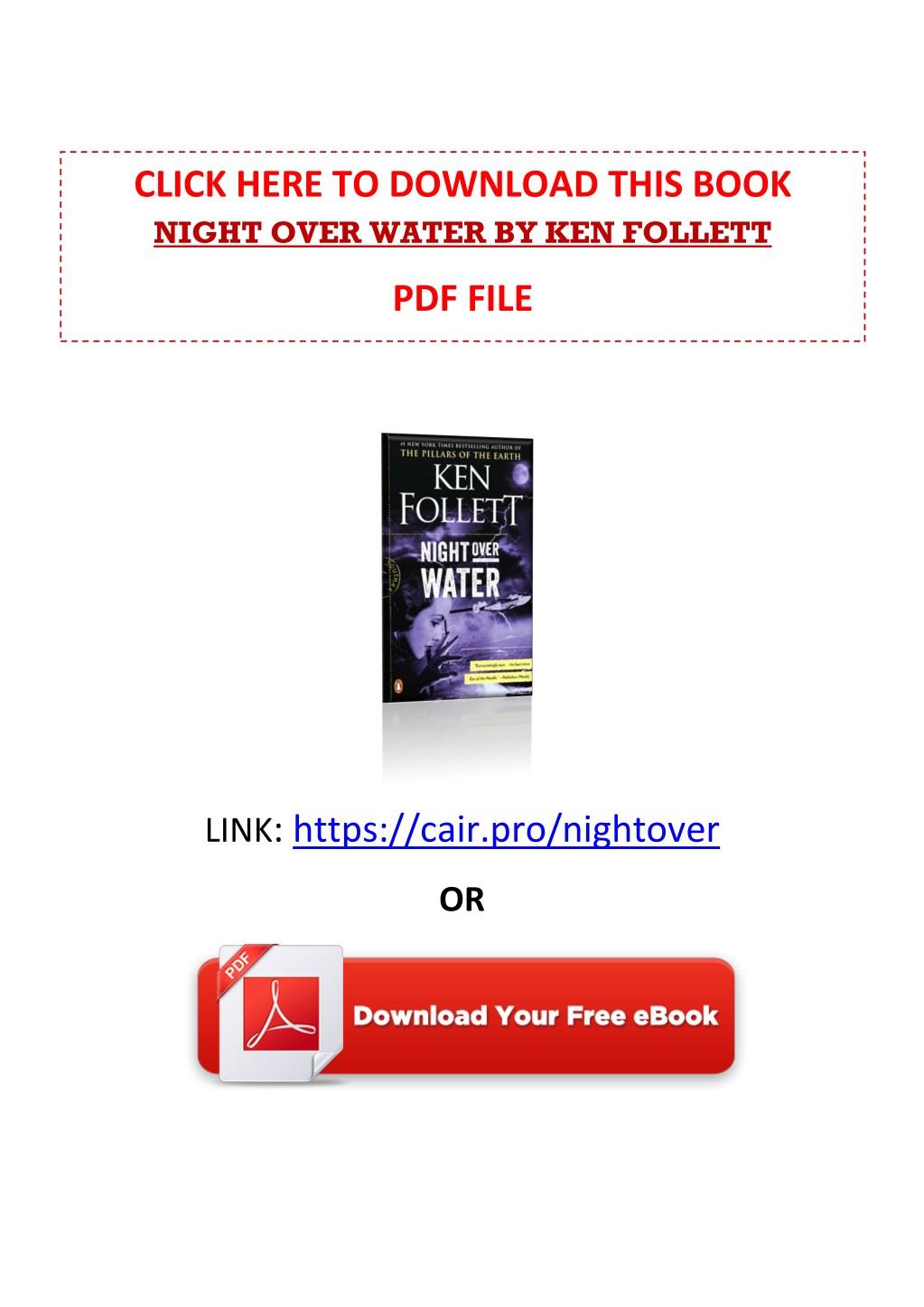 Ken Follett Ebooks Free Download Pdf