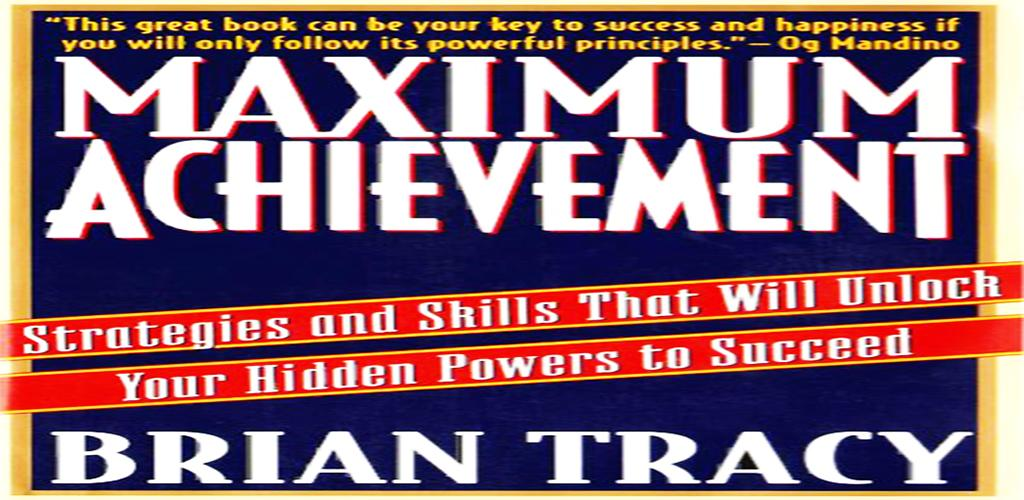 Maximum Achievement By Tracy Pdf