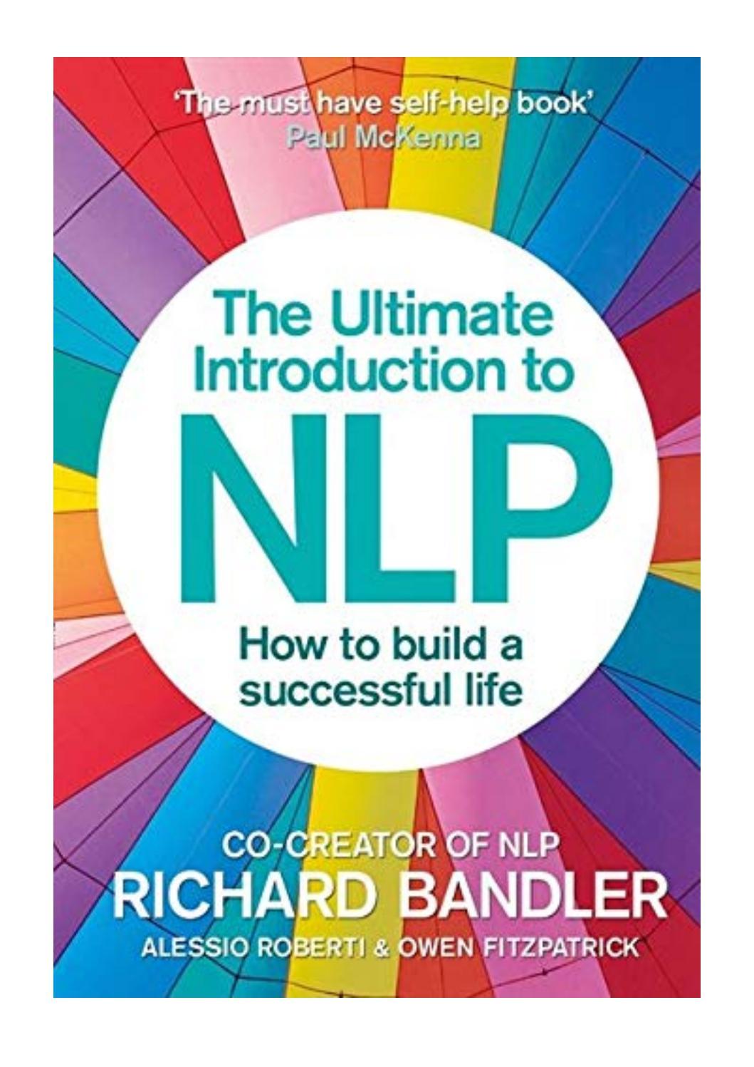 Nlp Richard Bandler Books Pdf