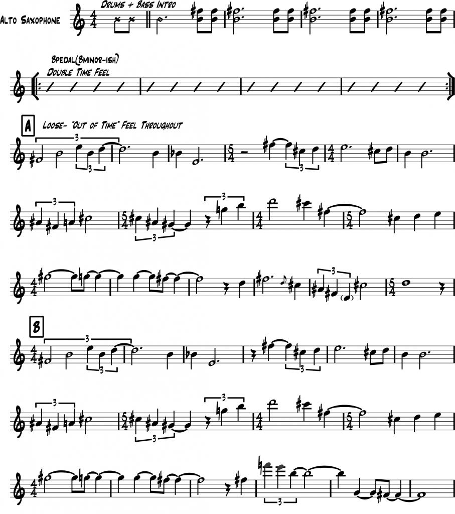 Ornette Coleman Transcriptions Pdf