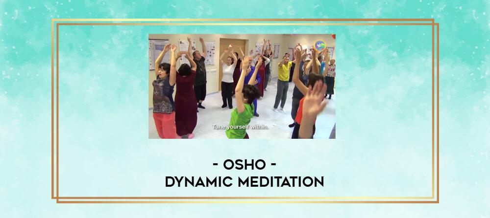 Osho Dynamic Meditation Pdf