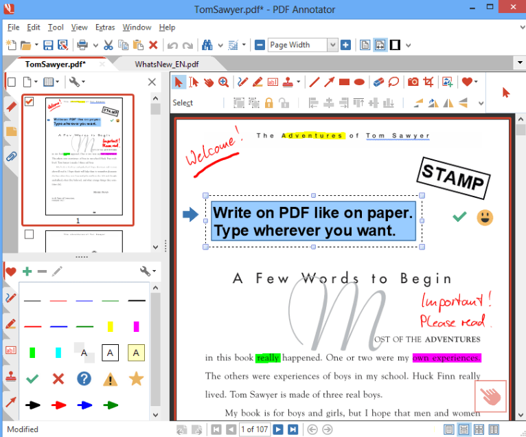 Pdf Annotator Freeware