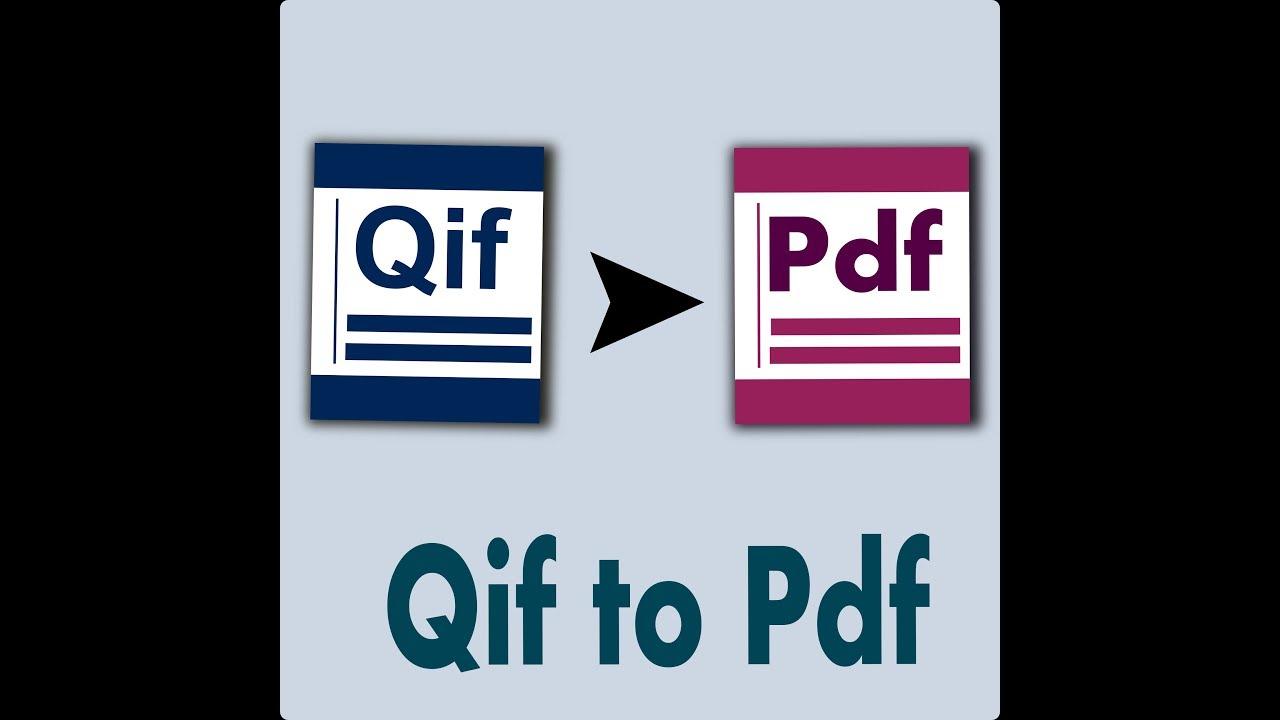 Pdf To Qif Converter