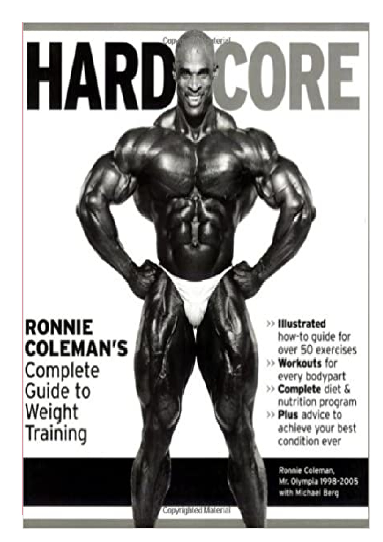Ronnie Coleman Workout Routine Pdf
