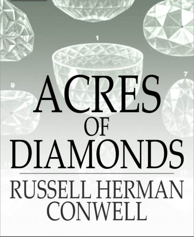 Russell H Conwell Acres Of Diamonds Pdf
